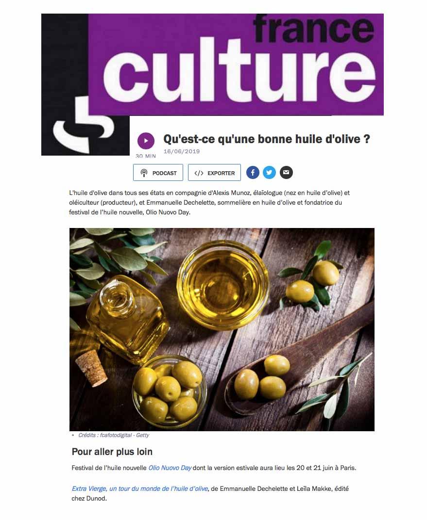 Qu est ce qu'une bonne huile d'olive ?