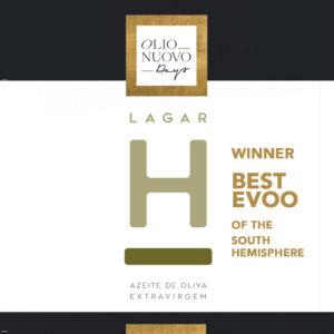 LAGAR H BEST EXTRA VIRGIN OLIVE OIL 2020 SOUTH HEMISPHERE OLIO NUOVO DAYS