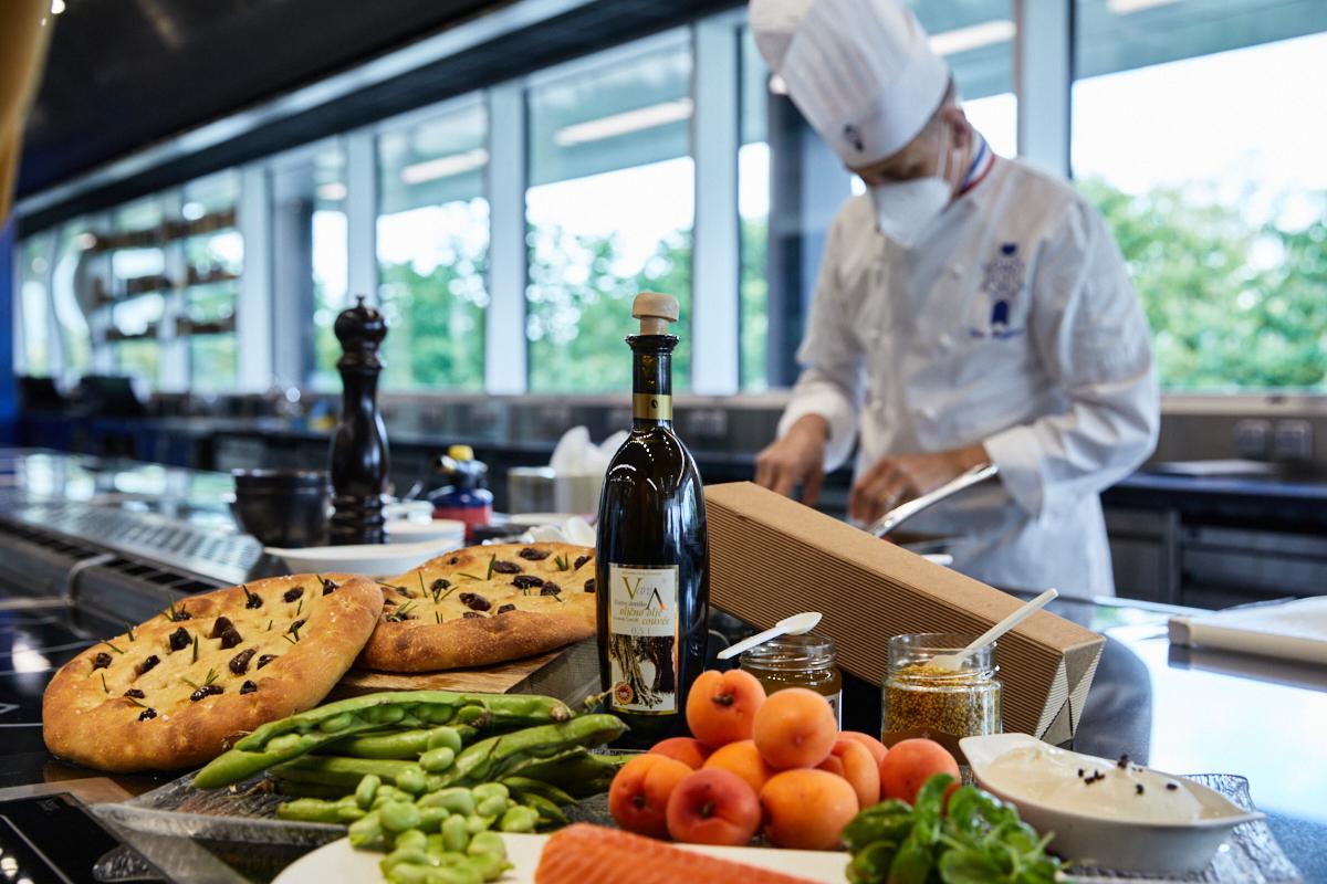 Chef Briffard for Olio Nuovo Days 2021